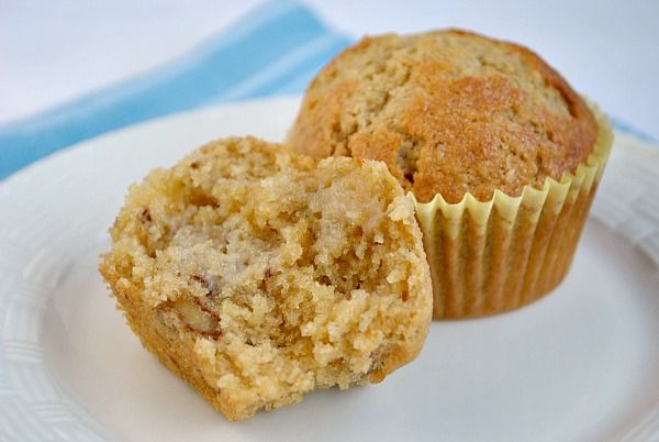 Banana Nut Muffins | recipes | Pinterest