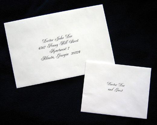 Wedding invitations envelopes the wedding 45 pinterest