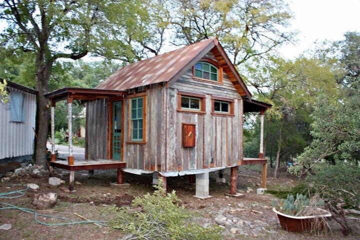 Tiny Texas Houses Cabins Pinterest