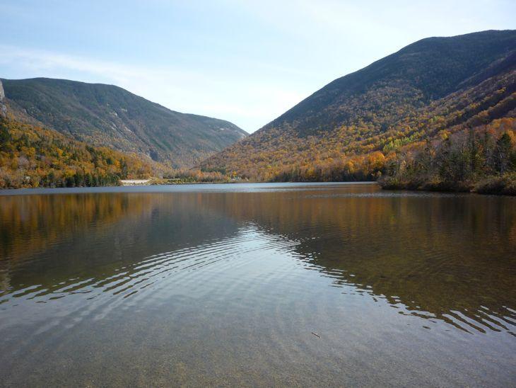 Echo Lake, Franconia State Park NH