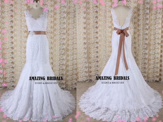 Wedding Dress Removable Lace Overlay : Wedding dress removable lace overlay flower girl dresses