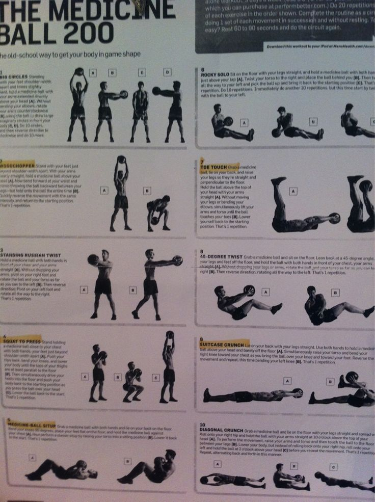This is an image of Adaptable Printable Exercise Ball Workouts