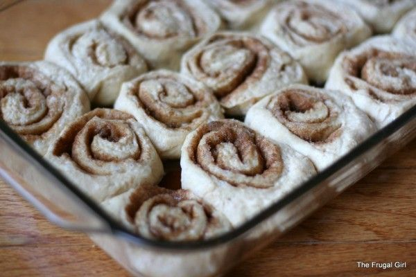Overnight Cinnamon Rolls with Cream Cheese Frosting ~made this for ...