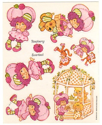 Scratch n' Sniff - Strawberry Shortcake