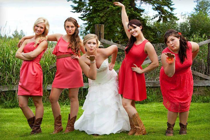 Wedding Spectacular Different Bridesmaid Dresses 29