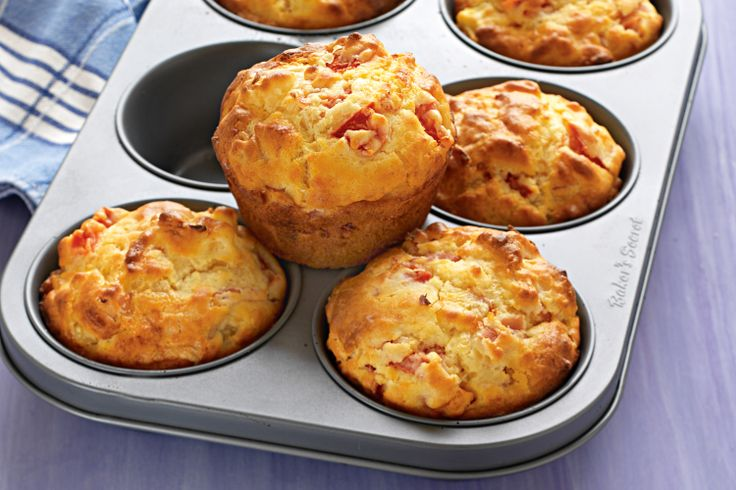 Ham & Pineapple Muffins. Make a batch of these more-ish muffins to ...