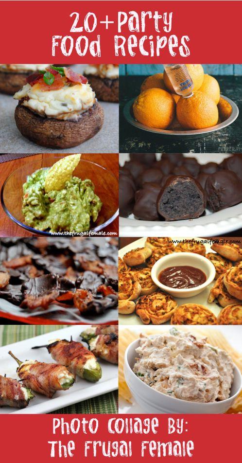20 party food recipes quot crafty 2 the core diy galore quot pinterest