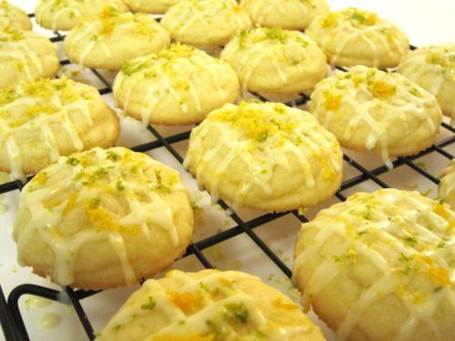 Citrus Butter Cookies | Sweet sweet | Pinterest