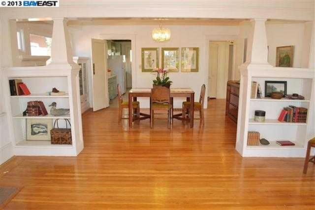 Built Ins To Separate The Dining Room Living Room Pinterest
