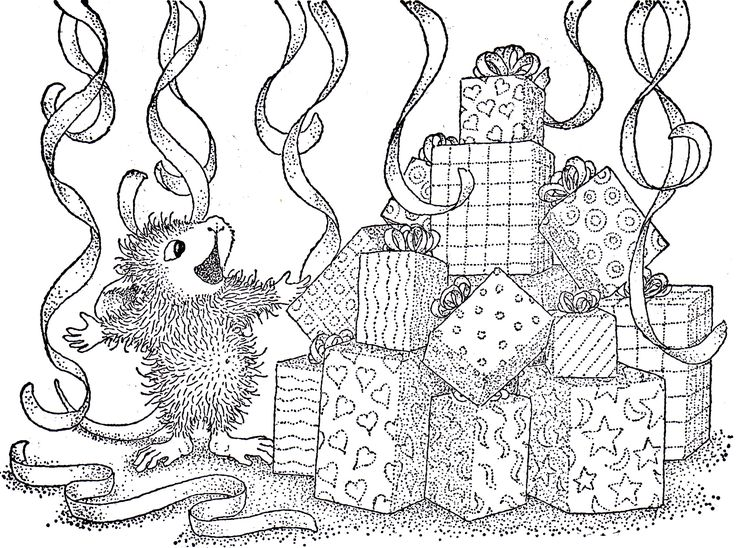 house mouse designs coloring pages - photo#26
