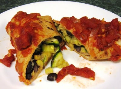 Black Bean, Corn and Zucchini Enchiladas | Healthy Eats & Tips | Pint ...