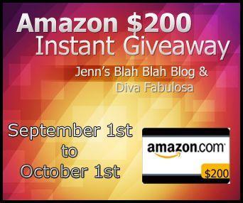 28 Days Left. Enter To Win! $200 Amazon Gift Code. amazon $200 instant bucks giveaway