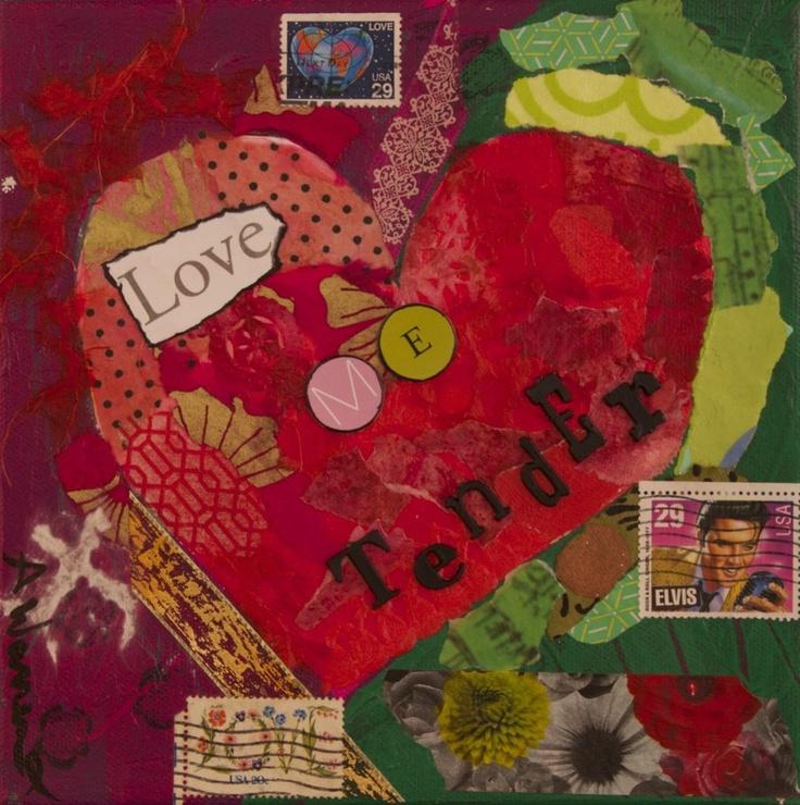 paper collage art pinterest