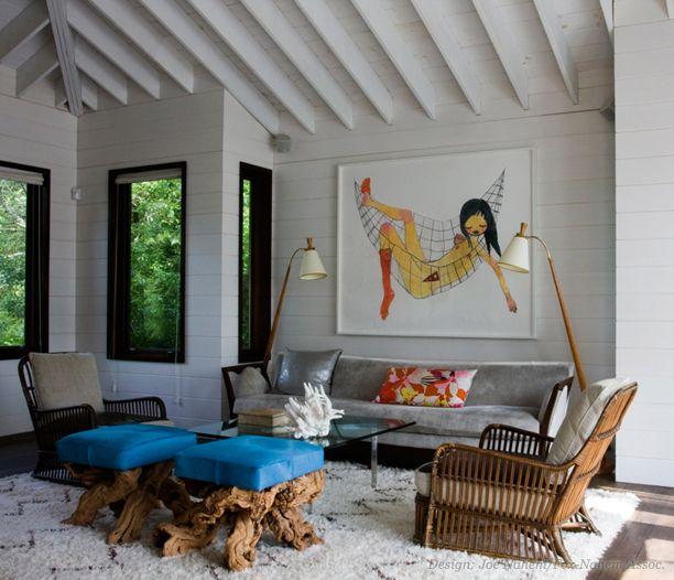 Bohemian Living Room For The Home Pinterest