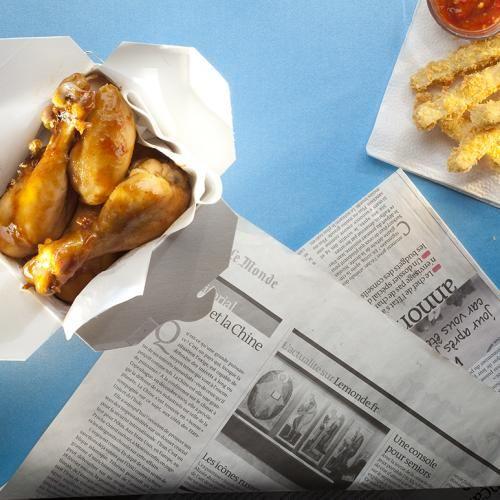 BBQ Chicken Drumsticks with Crispy Tofu Fries | Recipe