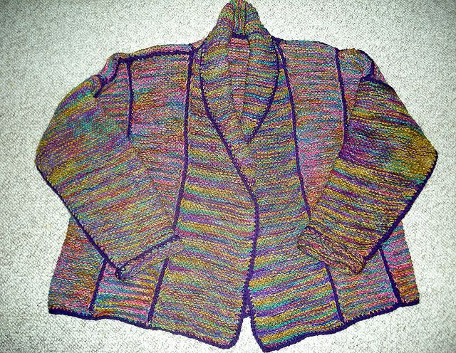 Knitting Pattern Essentials By Sally Melville : Faith jacket by Sally Melville Knit: Wear Pinterest
