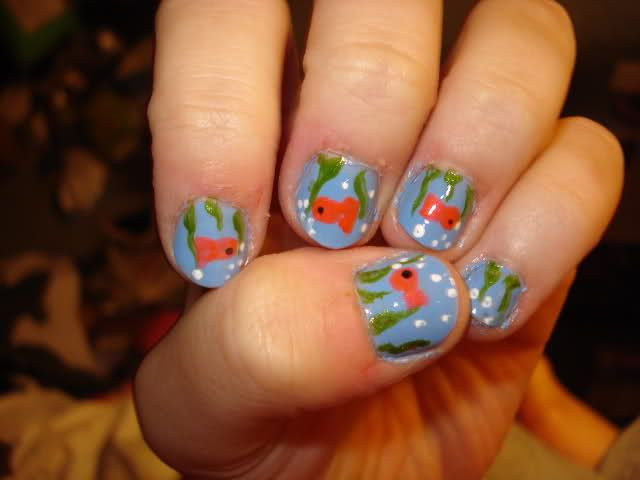 download this Fish Nails Pandora picture