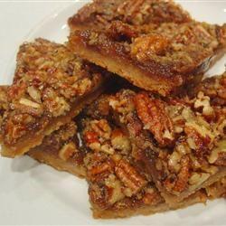 Maple Pecan Shortbread Squares | Food | Pinterest