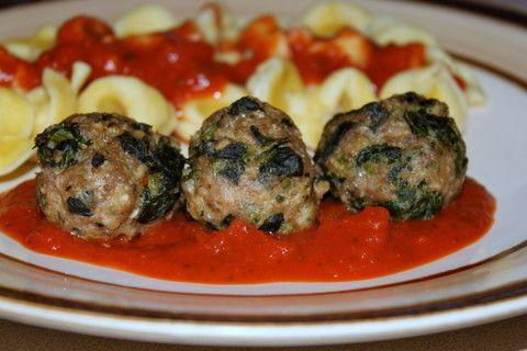 Florentine Turkey Meatballs