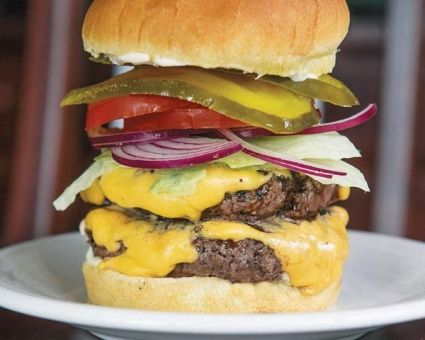 All American Cheeseburger Recipe Dishmaps