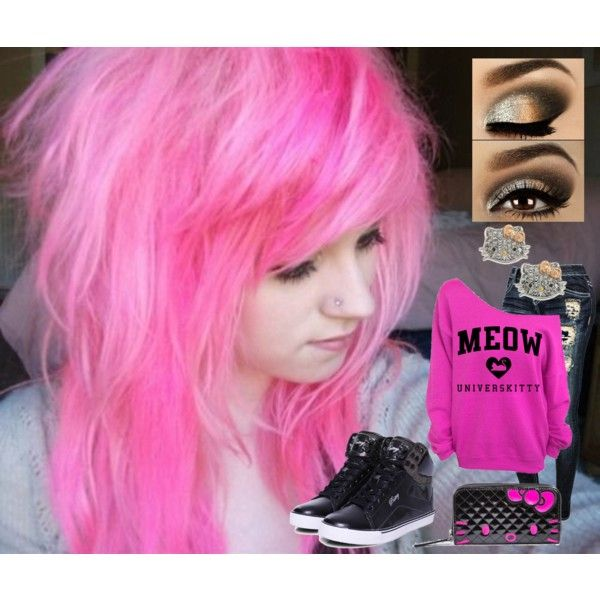 Sexy pink hair emo girl | Beutiful emo girls hair all colors xx | Pi ...