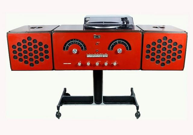"Brionvega-Castiglioni RR 126 ""portable"" hi-fi system"