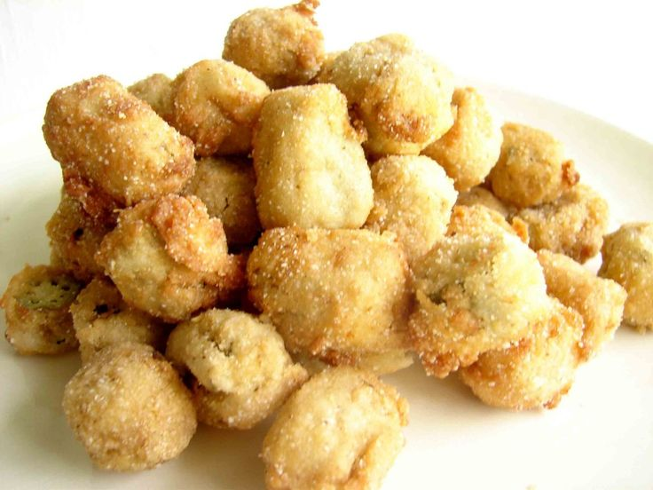 Southern Fried Okra | Appetizers, Dips, and Sides | Pinterest