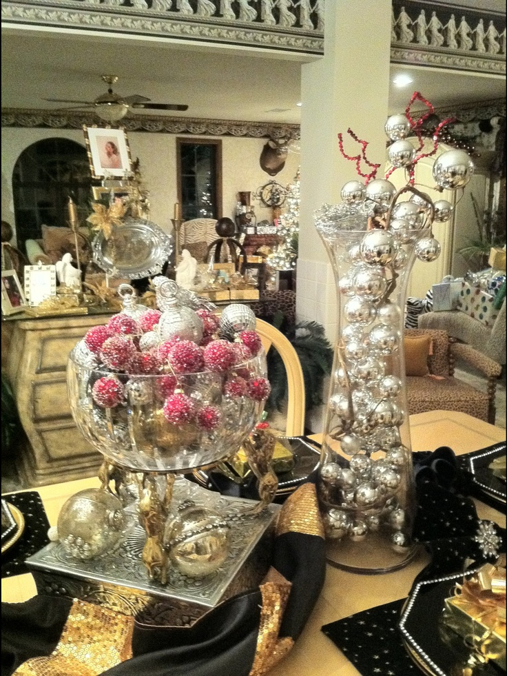 Christmas Tablescape Holiday Decorations Pinterest