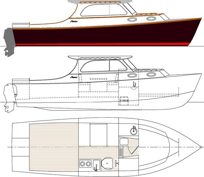 CZ: Download Plan boat wood