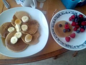 delicious gluten free pancakes | food | Pinterest