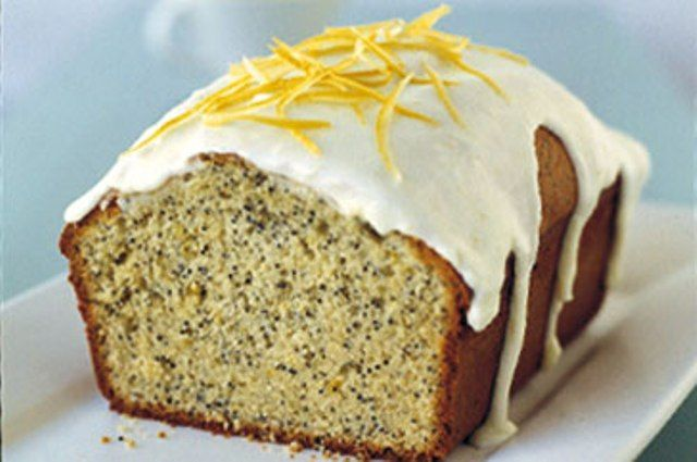 Lemon & Poppy Seed Cake | Birthday Cake Ideas | Pinterest