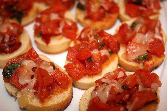 Double Tomato Bruschetta (vegan option, gluten-free option) | Recipe