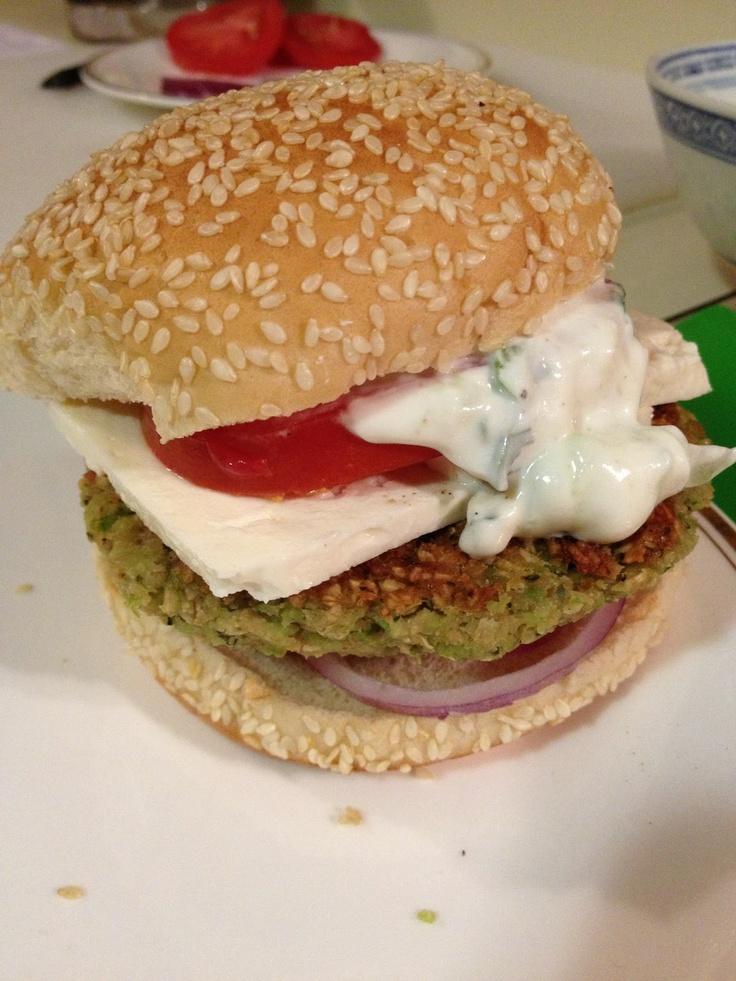 feta burgers falafel burgers with feta tzatziki sauce falafel burgers ...