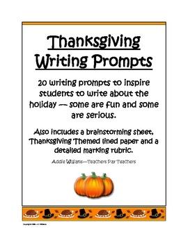 Thanksgiving Printable Writing Paper