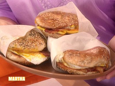 Bacon, Egg, and Cheese Sandwich, New York City Deli-Style - Martha ...