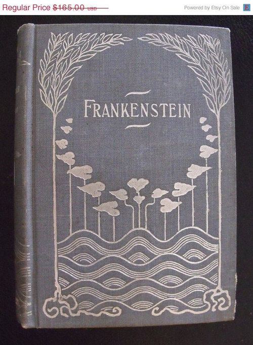 What is the symbolism of ice in Frankenstein?