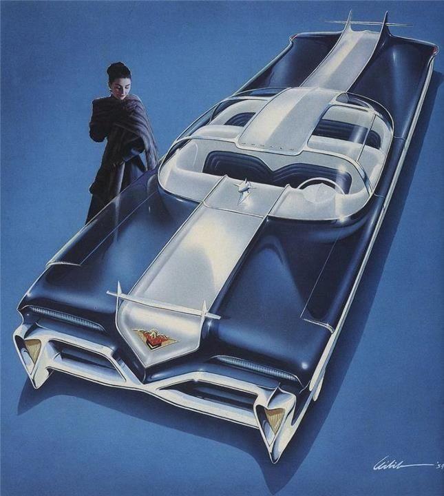 Concept Car 1950s Risk Liberty Amp Motors Pinterest