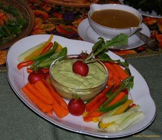 Crudites With Green Goddess Dressing Recipe — Dishmaps