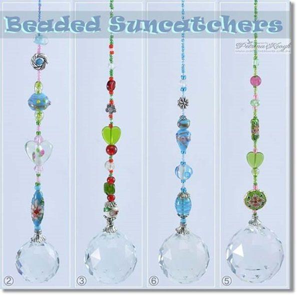 beaded sc beaded suncatcher jewellery