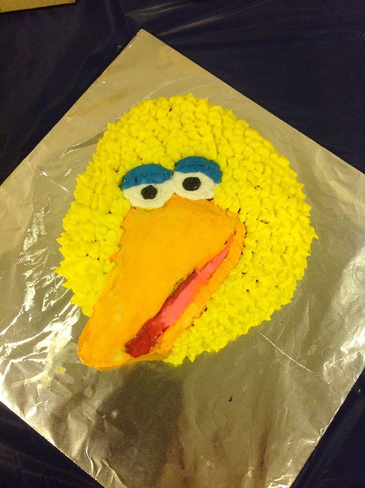 Big bird cake Cakes Pinterest