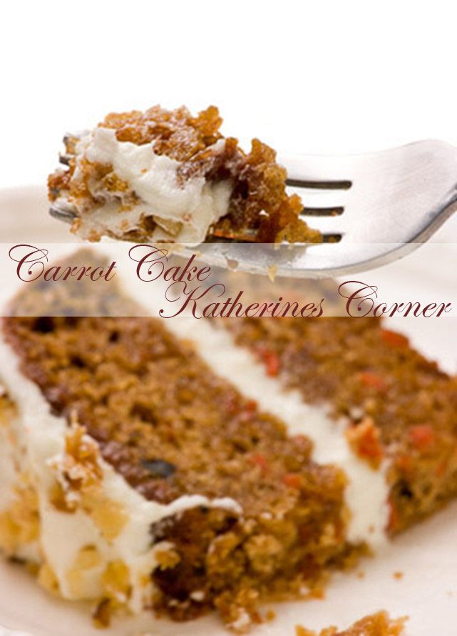 Carrot Cake with Cream Cheese frosting | Easter Ideas | Pinterest