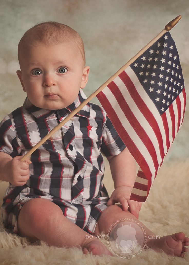 4th of july baby picture ideas