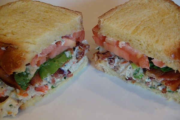RECIPE: Succulent Crab Salad Club Sandwich | Black and Married With ...