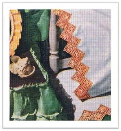 How to Crochet Pillowcase Edgings : Crochet Stitches