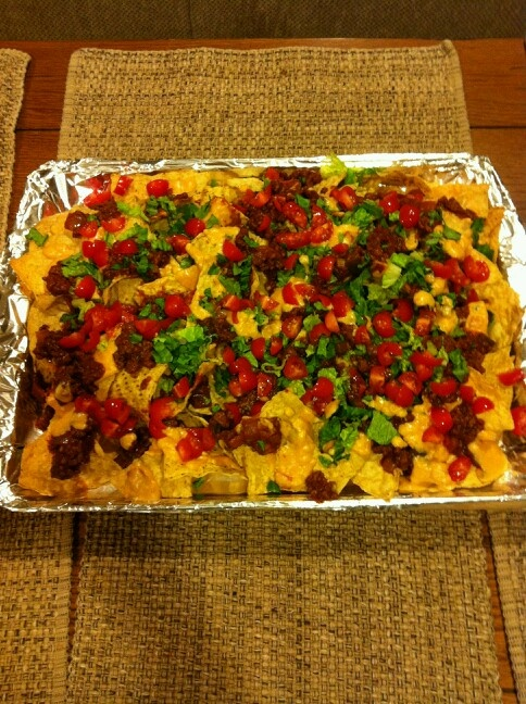 Party Nachos | Snackie Food Yummies for Our Tummies | Pinterest