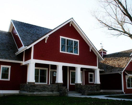 image detail for 107 534 red exterior home design photos. Black Bedroom Furniture Sets. Home Design Ideas
