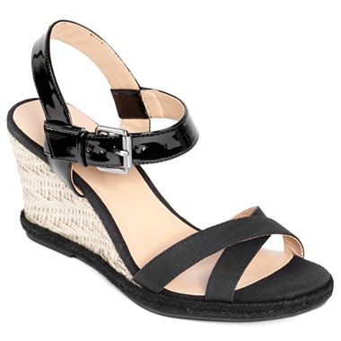 9 co 174 ultima wedge sandals jcpenney my style