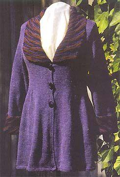 ABC Knitting Patterns - Silk Garden Jacket.