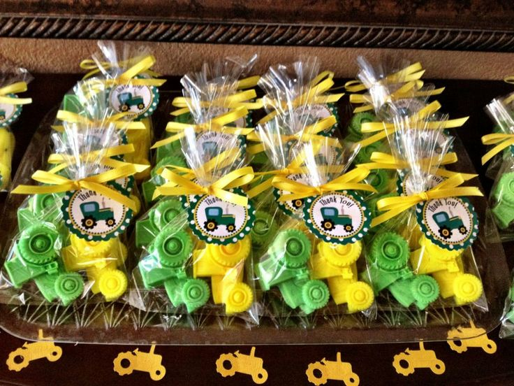 favors 20 soaps john deere inspired birthday tractor baby shower