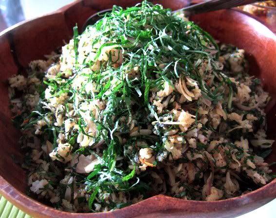 Nasi Ulam ( Nyonya Herbed Rice Salad) | Herbs/Ulam | Pinterest
